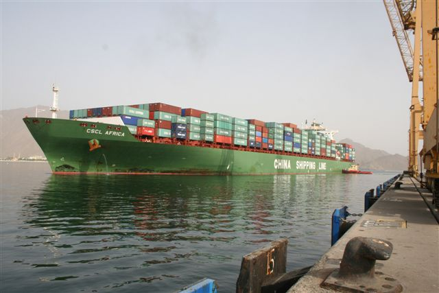 Khorfakkan gains additional Asian connection with China Shipping service