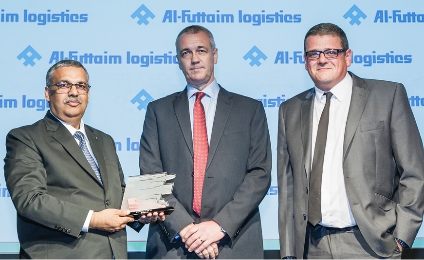 Gulfainer - KCT wins Ship of The Year honour at 2015 SCATA