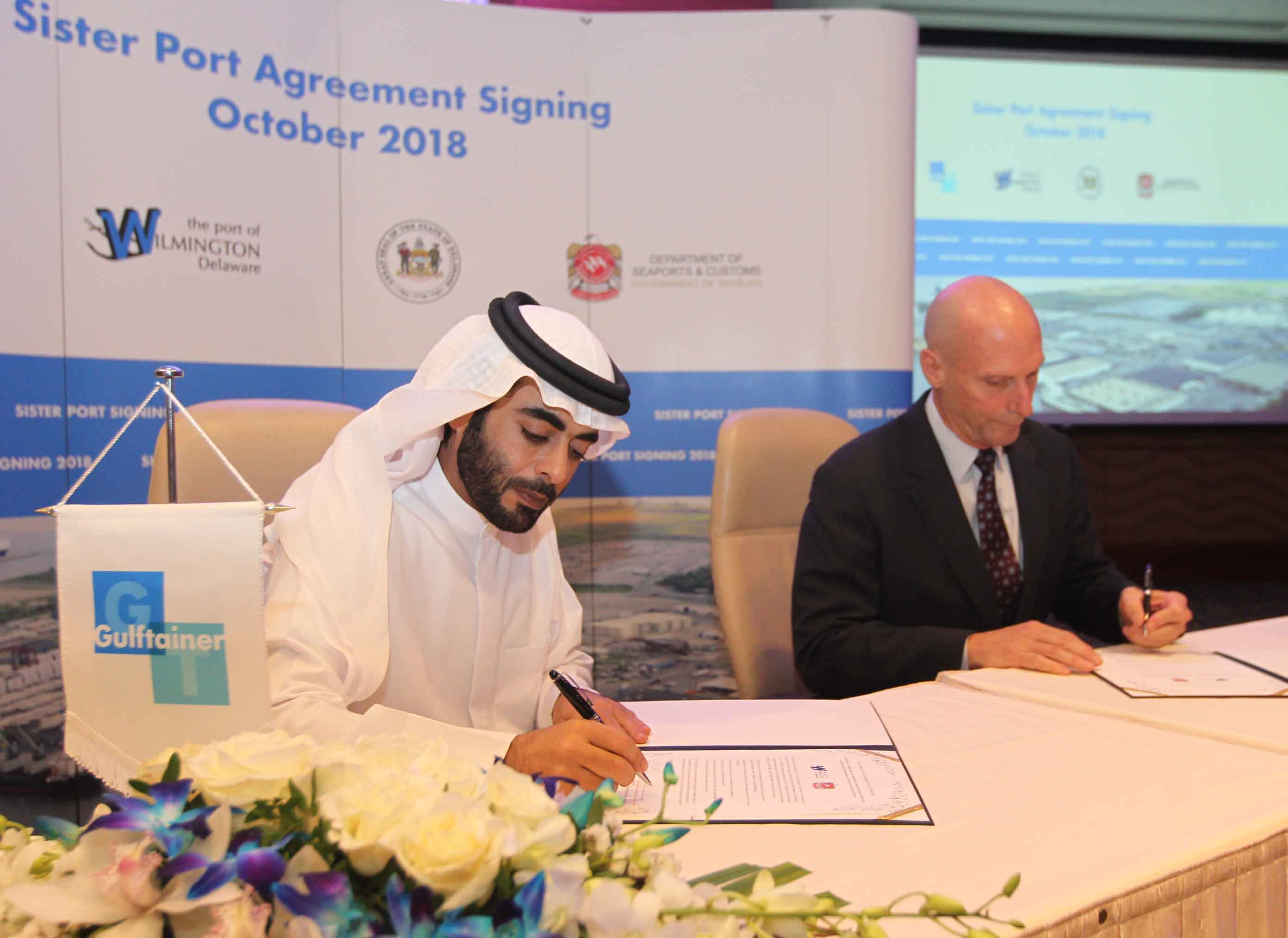 Gulftainer |Gulftainer: Sister Port Agreement Paves Way for