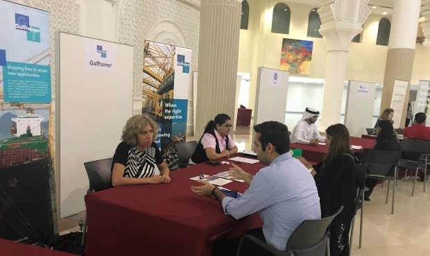 Mock interviews and career counselling was also facilitated for internship opportunities at Gulftainer.